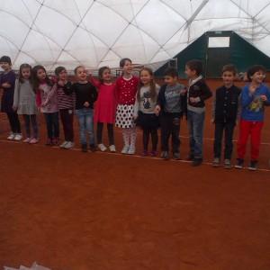 урок по тенис